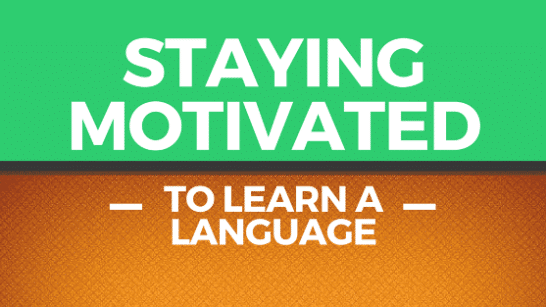 motivation in language learning banner