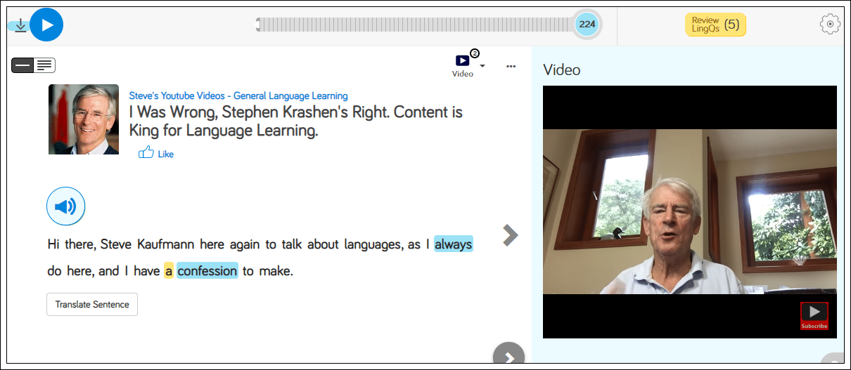 Learn Languages on LingQ